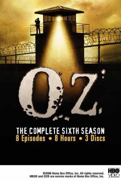 Bestselling Movies (2006) - Oz - The Complete Sixth Season by Gregory Dark