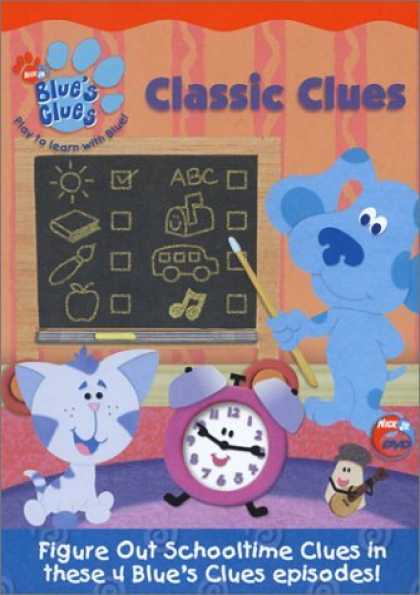Bestselling Movies (2006) - Blue's Clues - Classic Clues by Koyalee Chanda