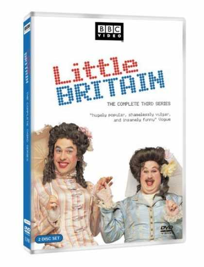 Bestselling Movies (2006) - Little Britain - The Complete Third Series by Matt Lipsey