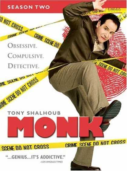 Bestselling Movies (2006) - Monk - Season Two by Adam Arkin