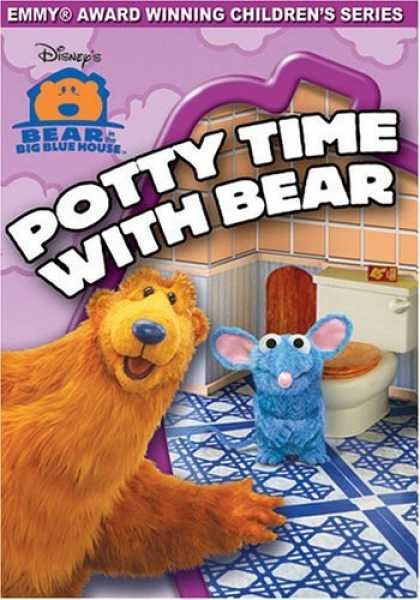Bestselling Movies (2006) - Bear in the Big Blue House - Potty Time with Bear by Richard A. Fernandes