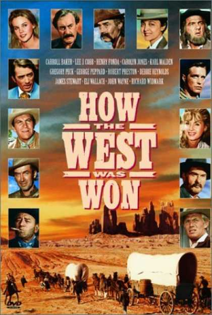 Bestselling Movies (2006) - How the West Was Won by Henry Hathaway