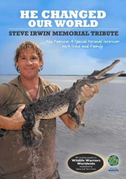 Bestselling Movies (2006) - He Changed Our World - Steve Irwin Memorial Tribute