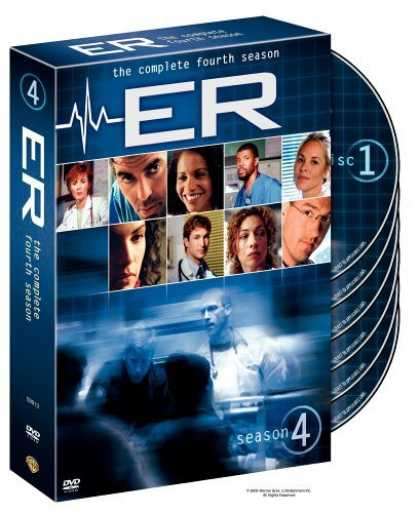 Bestselling Movies (2006) - ER - The Complete Fourth Season by Brett Fallis