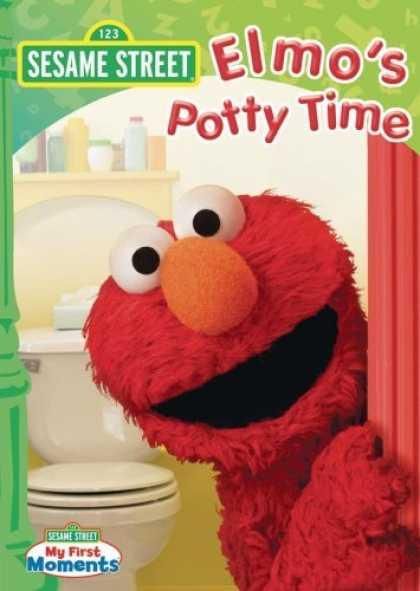 Bestselling Movies (2006) - Sesame Street - Elmo's Potty Time