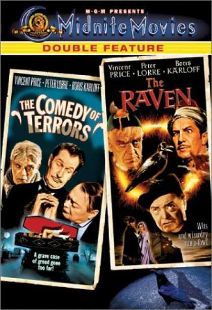 Bestselling Movies (2006) - The Comedy of Terrors / The Raven by Jacques Tourneur
