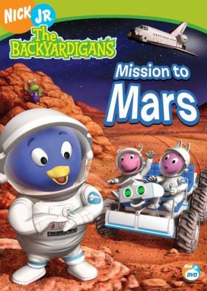 Bestselling Movies (2006) - The Backyardigans - Mission to Mars by Dave Palmer (III)