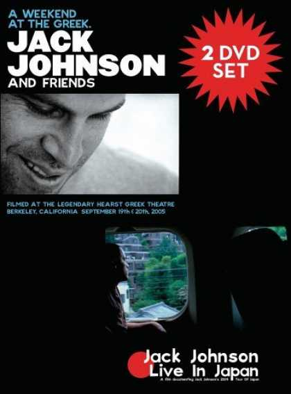 Bestselling Movies (2006) - Jack Johnson - A Weekend At The Greek & Live In Japan [2 DVD]
