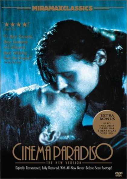 Bestselling Movies (2006) - Cinema Paradiso - The New Version by Giuseppe Tornatore