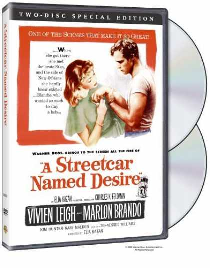 Bestselling Movies (2006) - A Streetcar Named Desire (Two-Disc Special Edition) by Elia Kazan