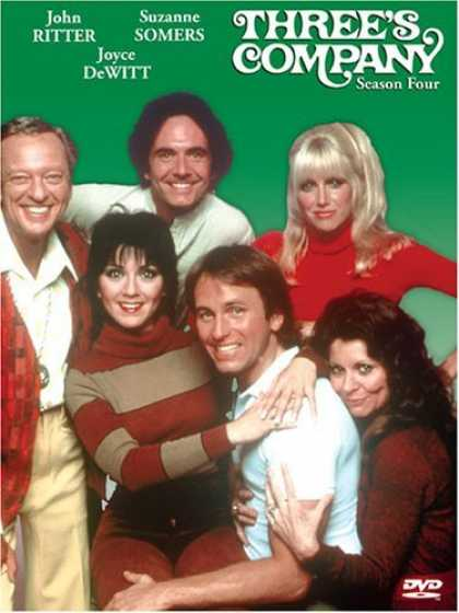 Bestselling Movies (2006) - Three's Company - Season Four by Bernard West