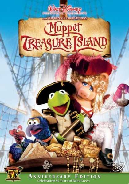 Bestselling Movies (2006) - Muppet Treasure Island - Kermit's 50th Anniversary Edition