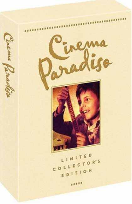 Bestselling Movies (2006) - Cinema Paradiso (Limited Collector's Edition) by Giuseppe Tornatore