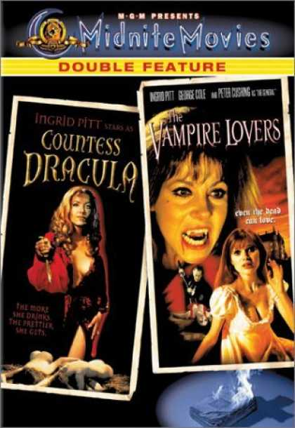 Bestselling Movies (2006) - Countess Dracula / The Vampire Lovers by Peter Sasdy