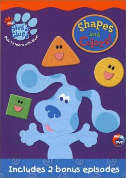 Bestselling Movies (2006) - Blue's Clues - Shapes And Colors by Koyalee Chanda