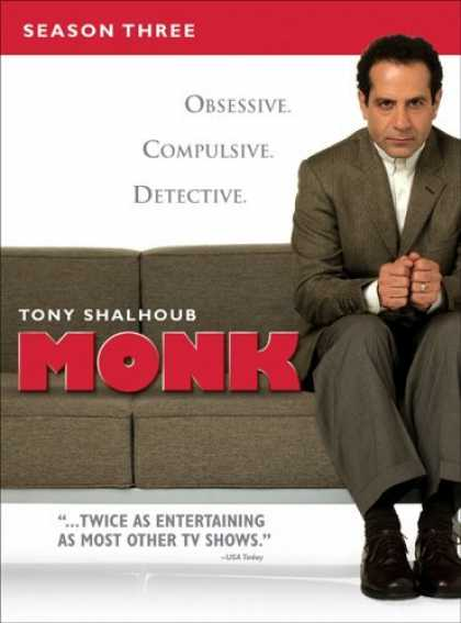 Bestselling Movies (2006) - Monk - Season Three by Adam Arkin