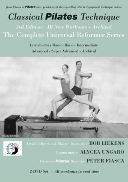 Bestselling Movies (2006) - Classical Pilates Technique: 3rd Edition Complete Universal Reformer Series + Ar