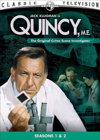 Bestselling Movies (2006) - Quincy, M.E. - Seasons 1 & 2 by Leslie H. Martinson