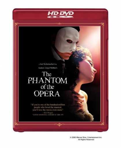 Bestselling Movies (2006) - The Phantom of the Opera (Special Edition) [HD DVD]