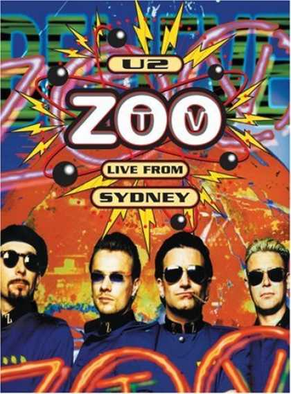 Bestselling Movies (2006) - U2 - Zoo TV Live From Sydney