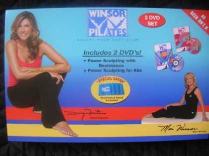 Bestselling Movies (2006) - Winsor Pilates-Sculpt Your Body Slim!-2 DVD set with Resistance Band!