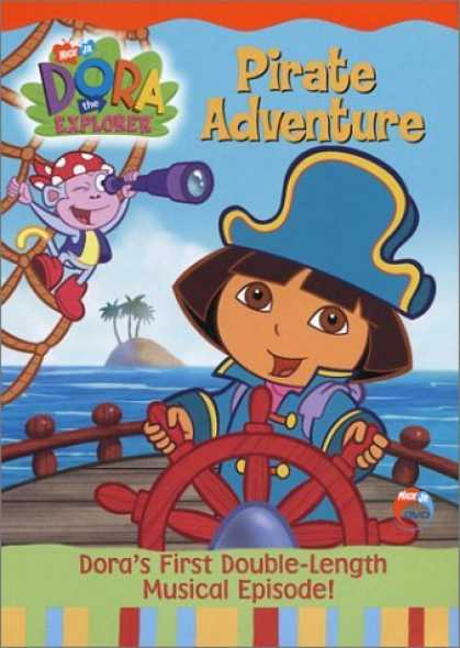 Bestselling Movies (2006) - Dora the Explorer - Pirate Adventure by Gary Conrad