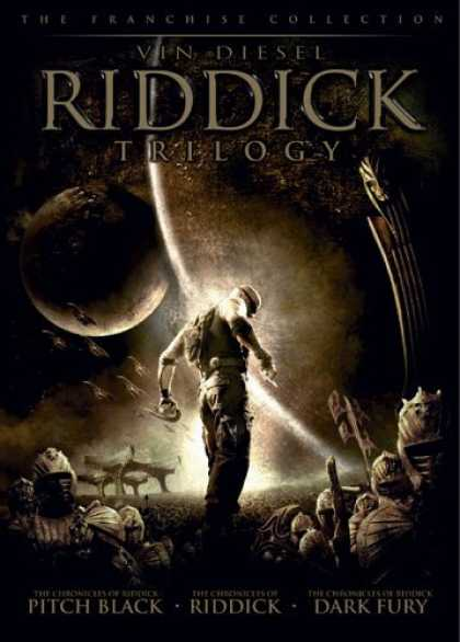 Bestselling Movies (2006) - Riddick Trilogy (Pitch Black/ The Chronicles of Riddick: Dark Fury/ The Chronic