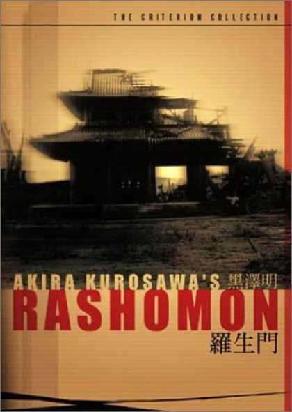 Bestselling Movies (2006) - Rashomon - Criterion Collection