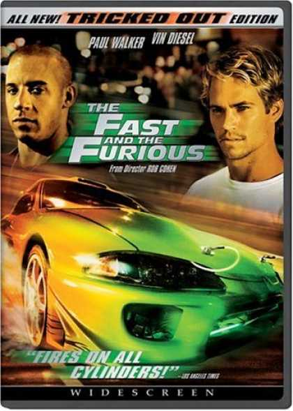 Bestselling Movies (2006) - The Fast and the Furious (Widescreen Tricked Out Edition)