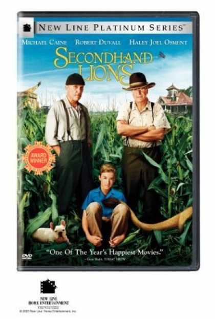 Bestselling Movies (2006) - Secondhand Lions (New Line Platinum Series) by Tim McCanlies