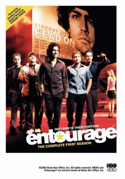 Bestselling Movies (2006) - Entourage - The Complete First Season