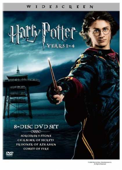 Bestselling Movies (2006) - Harry Potter Years 1-4 (Harry Potter and the Sorcerer's Stone / Chamber of Secre