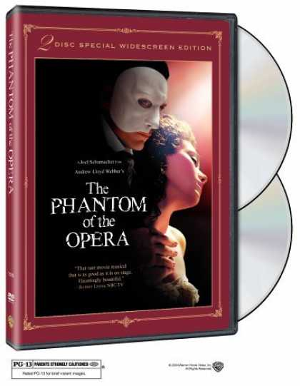 Bestselling Movies (2006) - The Phantom of the Opera (Two-Disc Special Edition) by Joel Schumacher