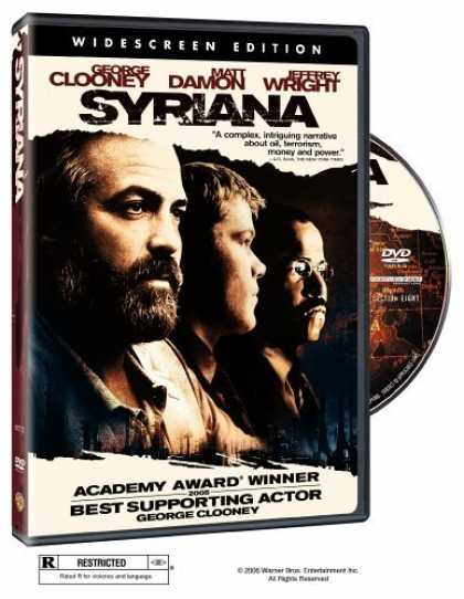 Bestselling Movies (2006) - Syriana (Widescreen Edition) by Stephen Gaghan