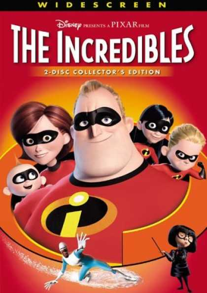 Bestselling Movies (2006) - The Incredibles (Widescreen 2-Disc Collector's Edition)