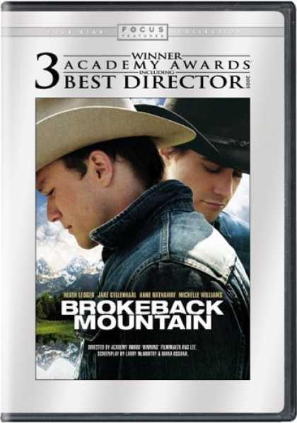 Bestselling Movies (2006) - Brokeback Mountain (Widescreen Edition) by Ang Lee