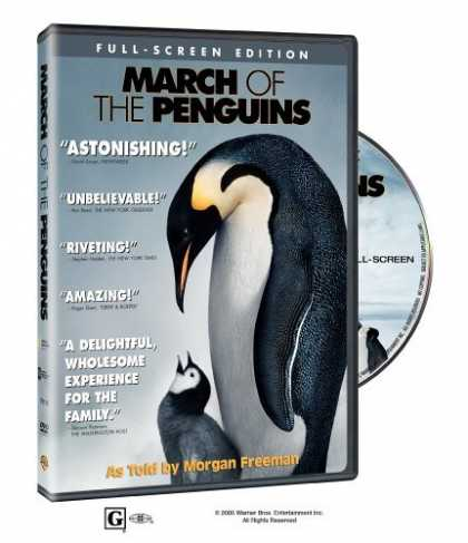Bestselling Movies (2006) - March of the Penguins (Full Screen Edition) by Luc Jacquet