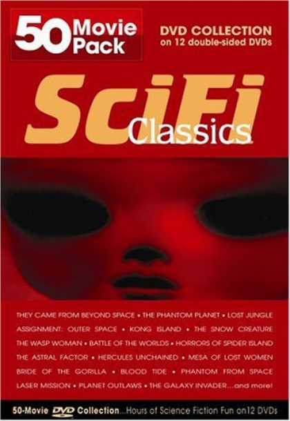 Bestselling Movies (2006) - SciFi Classics Collection 50 Movie Pack Collection