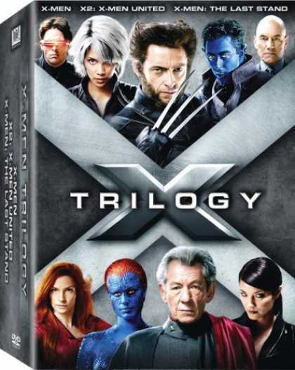 Bestselling Movies (2006) - The X-Men Trilogy (X-Men/ X2: X-Men United/ X-Men: The Last Stand)