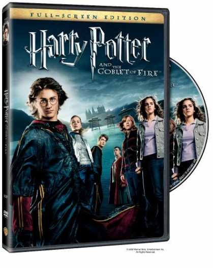 Bestselling Movies (2006) - Harry Potter and the Goblet of Fire (Full Screen Edition) (Harry Potter 4) by Mi