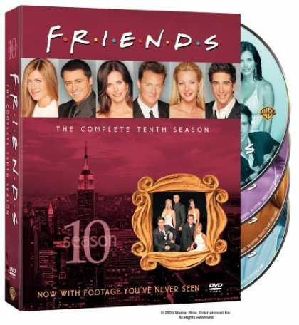 Bestselling Movies (2006) - Friends - The Complete Tenth Season