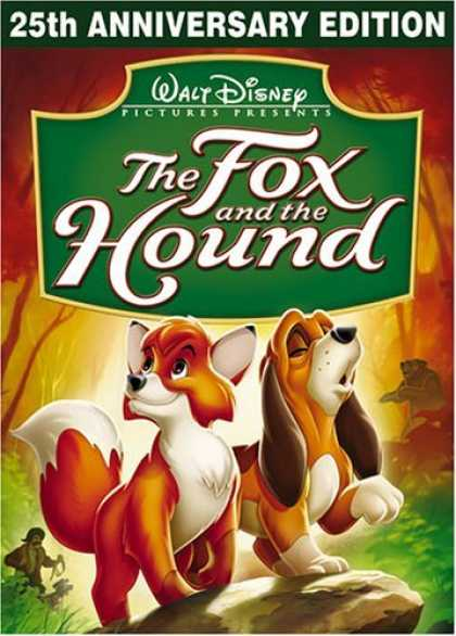 Bestselling Movies (2006) - The Fox and the Hound (25th Anniversary Edition) by Richard Rich