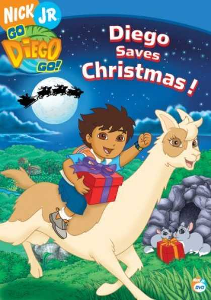 Bestselling Movies (2006) - Go Diego Go! Diego Saves Christmas!