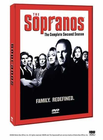 Bestselling Movies (2006) - The Sopranos: The Complete Second Season