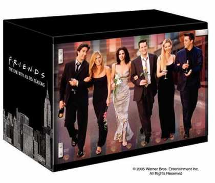 Bestselling Movies (2006) - Friends - The One with All Ten Seasons (Limited Edition)