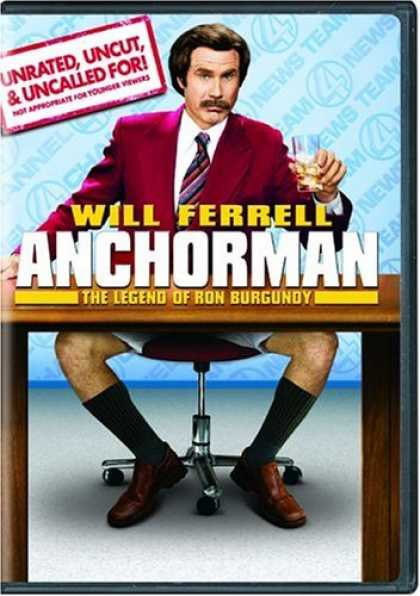 Bestselling Movies (2006) - Anchorman - The Legend Of Ron Burgundy (Unrated Widescreen Edition)