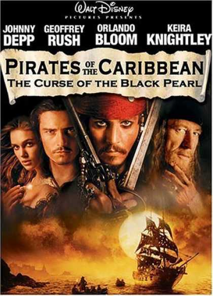 Bestselling Movies (2006) - Pirates of the Caribbean - The Curse of the Black Pearl (Two-Disc Collector's Ed