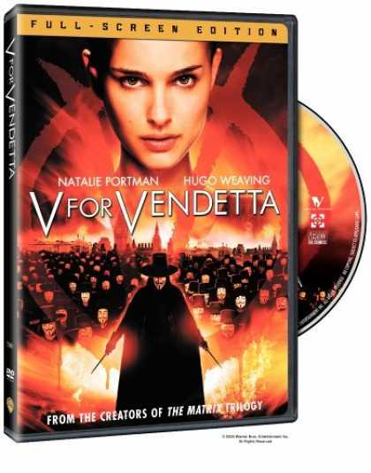 Bestselling Movies (2006) - V for Vendetta (Full Screen Edition) by James McTeigue