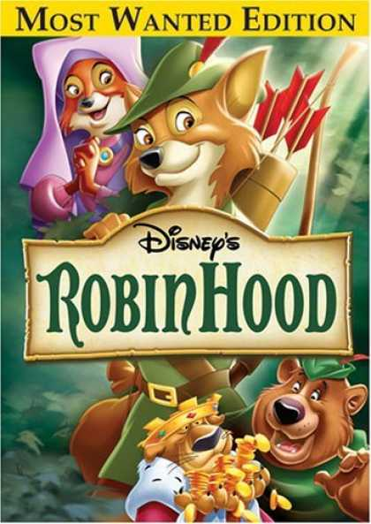 Bestselling Movies (2006) - Robin Hood (Most Wanted Edition) by Wolfgang Reitherman