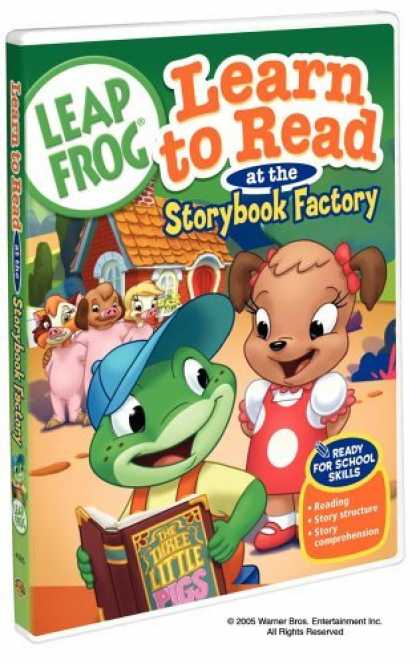Bestselling Movies (2006) - Leap Frog - Learn to Read at the Storybook Factory